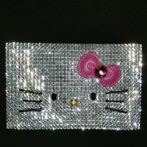 Hello Kitty Swarovski Card Holder